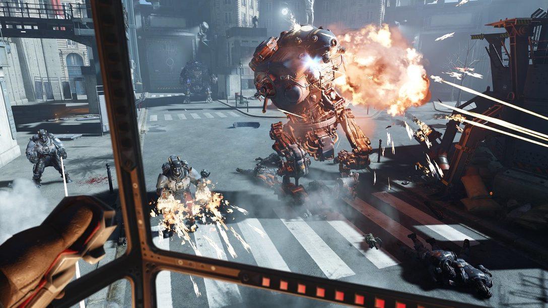 Conozcan Wolfenstein: Cyberpilot, Disponible Mañana en PS VR
