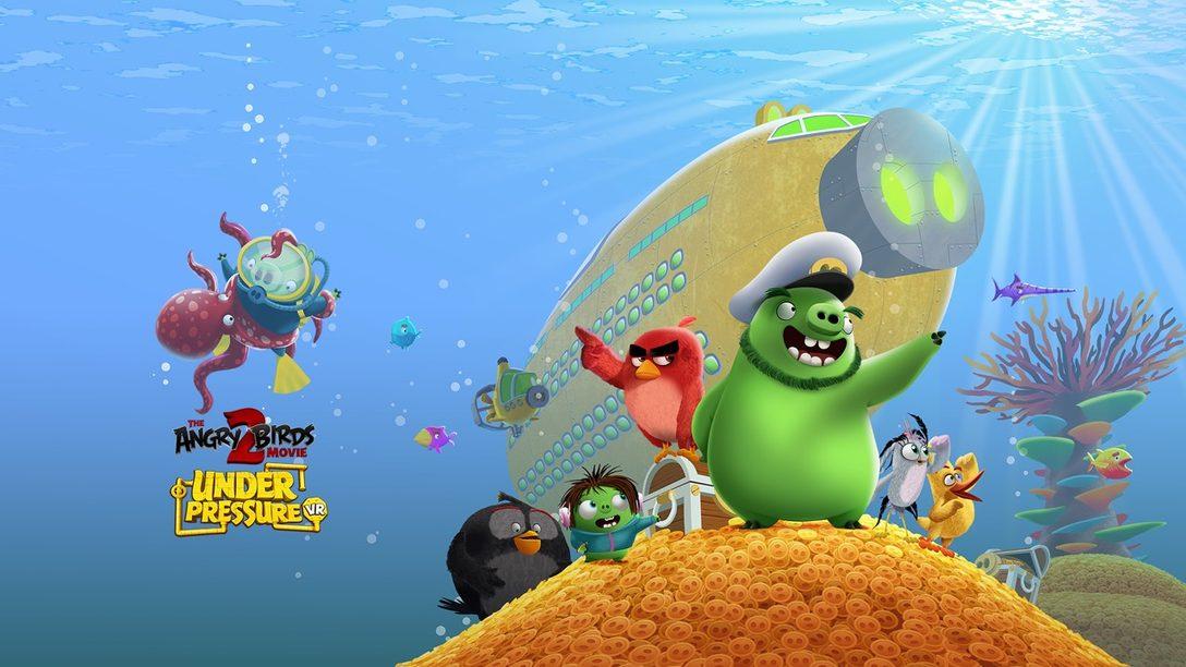 Angry Birds Movie 2 Game Llegará a PS VR el 6 de Agosto