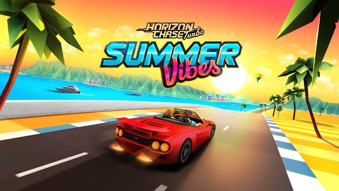 El DLC de Horizon Chase Turbo, Summer Vibes, Disponible Desde Hoy