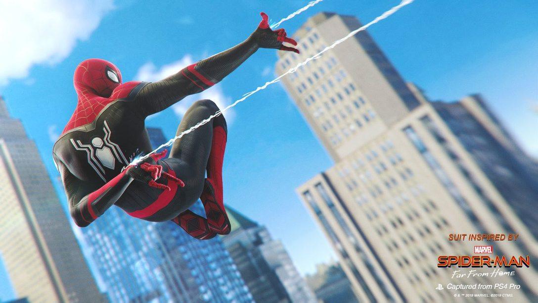 Far From Home se Balancea Hacia Marvel's Spider-Man