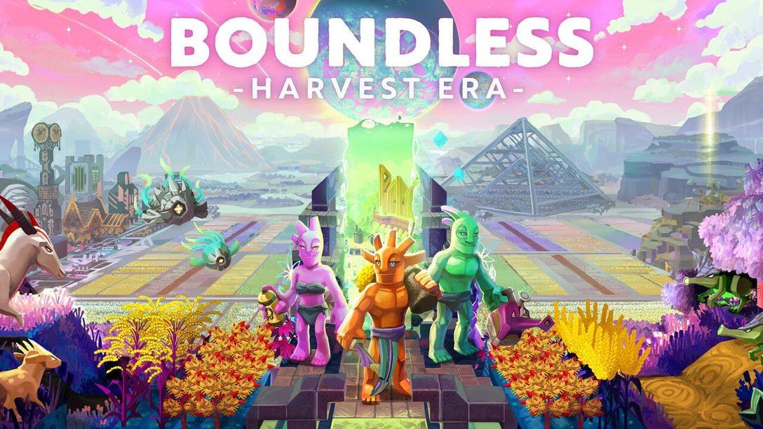 La Agricultura Llega Hoy a Boundless, la Aventura para Construir Mundos
