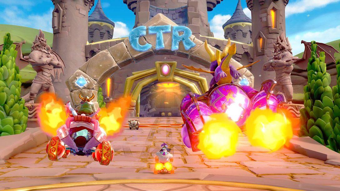 Spyro se Desliza Hacia CTR Nitro-Fueled en el Nuevo Grand Prix