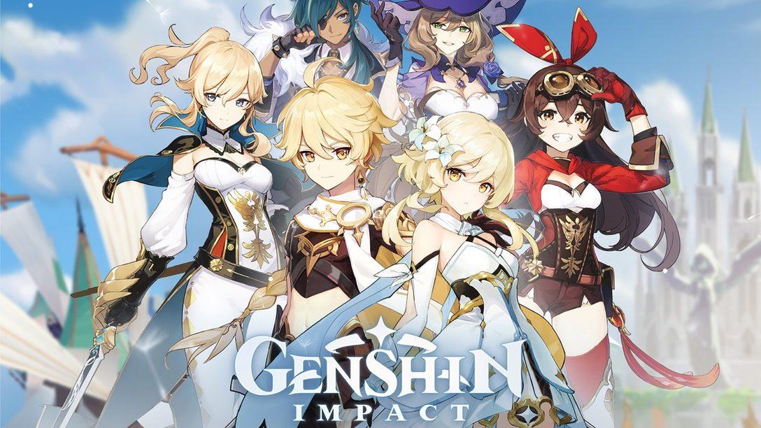 Genshin Impact, la Aventura de Mundo Abierto Llegará a PS4 el Próximo Año