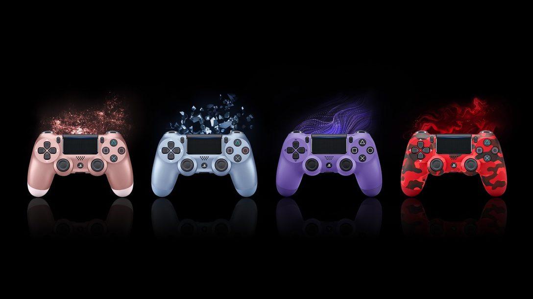 Conozcan los Cuatro Nuevos Controles Inalámbricos DualShock 4
