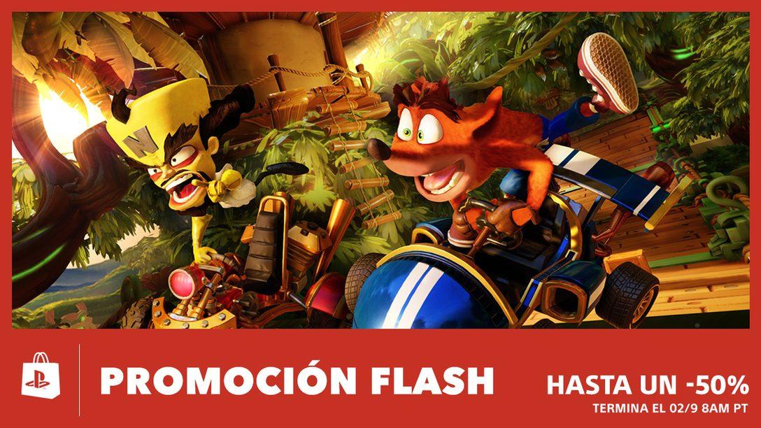 ¡Venta Flash! Ahorren Hasta 50% Durante el Fin de Semana