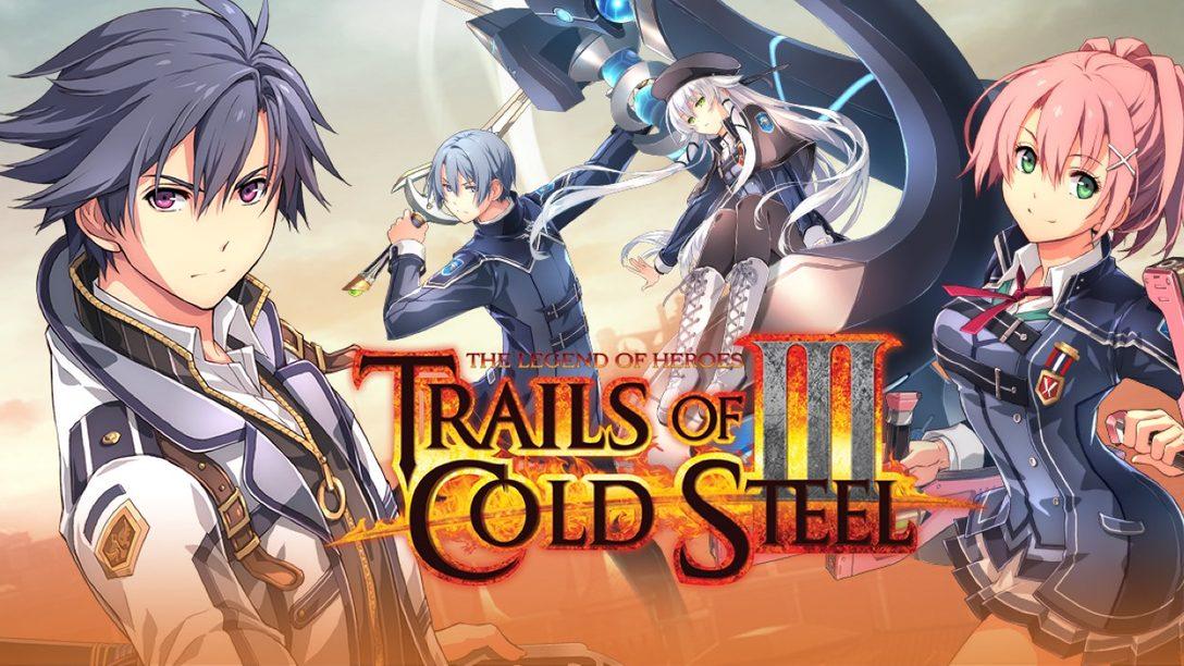 El Demo de The Legend of Heroes: Trails of Cold Steel III Está Disponible desde Hoy