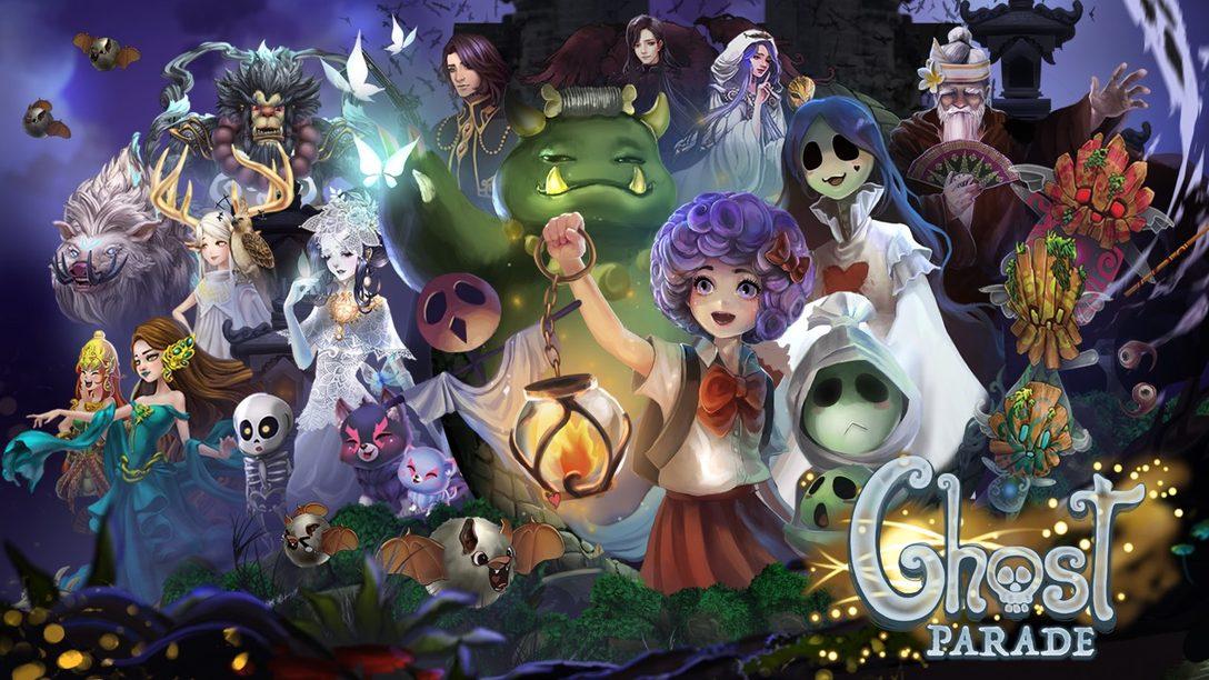Ghost Parade Encantará su PS4 este Halloween