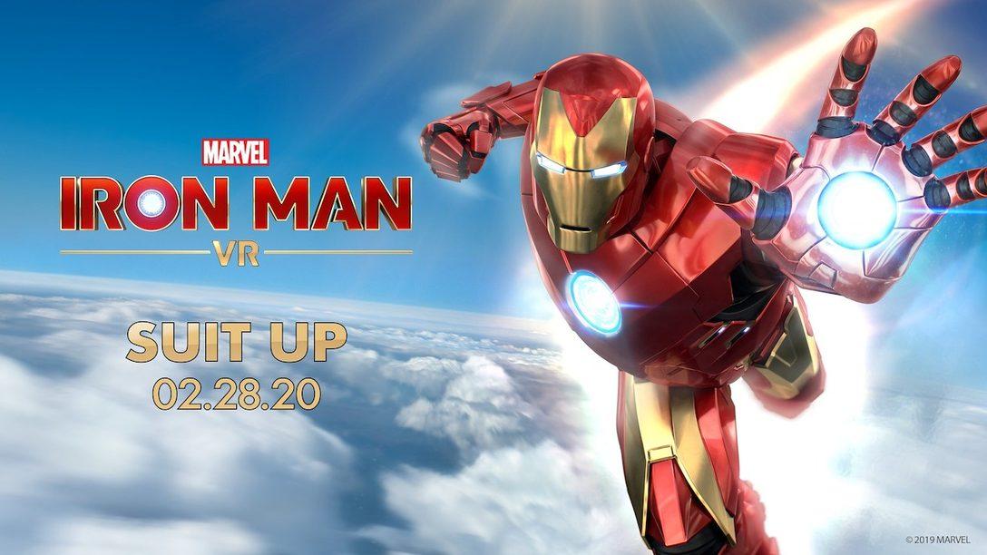 ¡Marvel's Iron Man VR estará disponible el 28 de febrero de 2020!