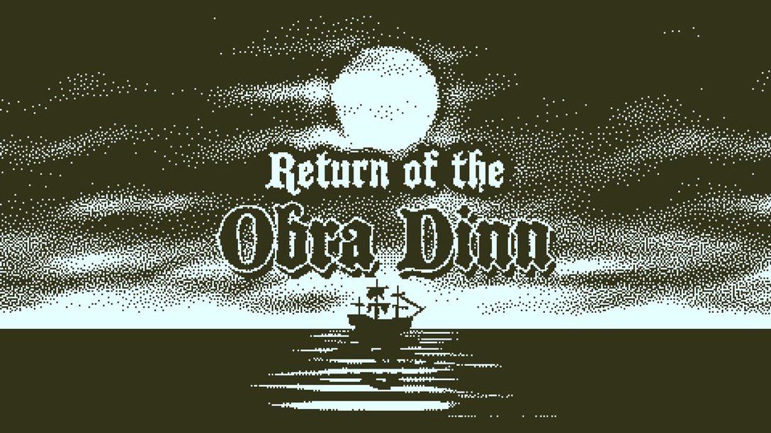 Return of the Obra Dinn, Aventuras en 1-Bit Disponibles Mañana
