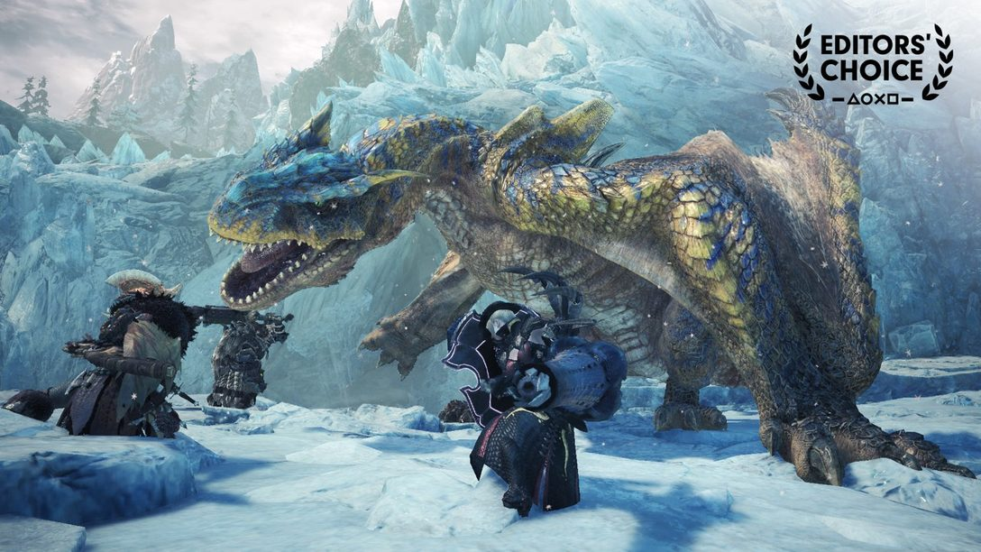 Editors' Choice: Monster Hunter World: Iceborne, Eleva el Listón de la Serie