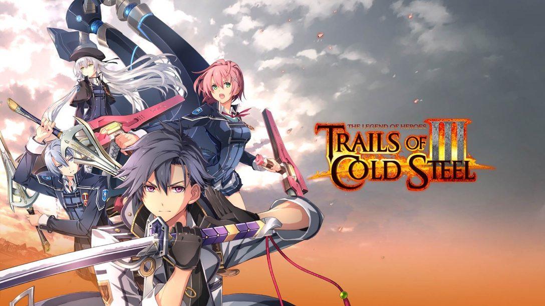 Trails of Cold Steel III Estará Disponible Hoy en PS4, ¡Hablamos con el Co-Creador de la Serie!