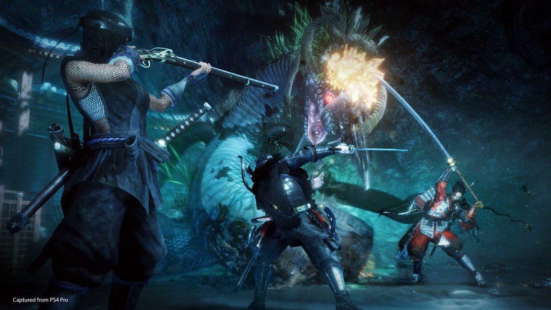 Nioh 2 Llegará a PS4 en Marzo de 2020, La Beta Abierta Empieza el 1ro de Noviembre