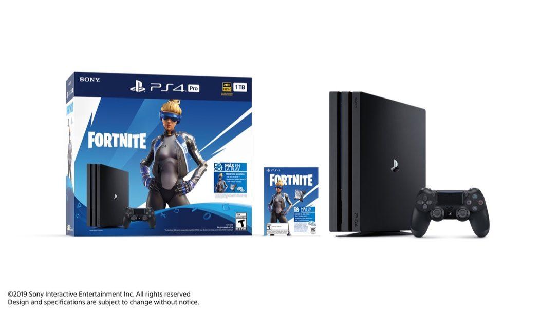 Reciban Contenido Exclusivo de Fortnite con el Fortnite Neo Versa PlayStation 4 Pro Bundle