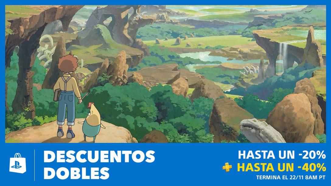La Venta Descuentos Dobles les Espera en PS Store