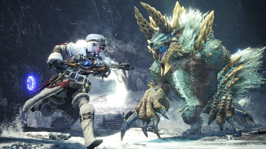 Equipo de Horizon Zero Dawn: The Frozen Wilds Azota Monster Hunter World: Iceborne