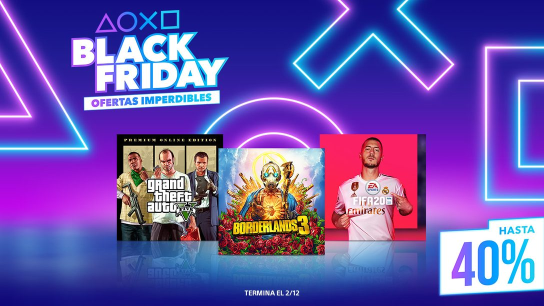 La Venta de Black Friday ya Empezó en PS Store