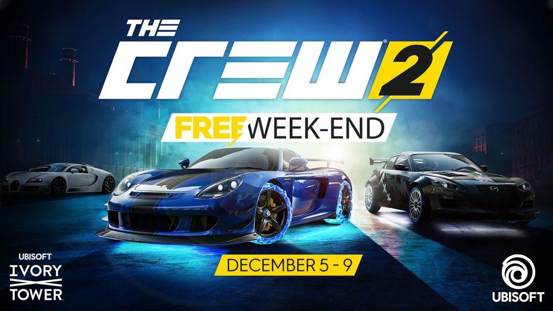 Jueguen The Crew 2 y la Actualización Blazing Shots Gratis este Fin de Semana