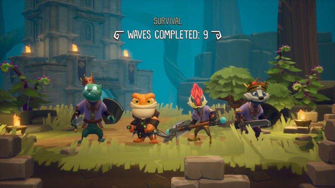 ReadySet Heroes Agrega 'Survival' Mode y Nuevas opciones Multijugador