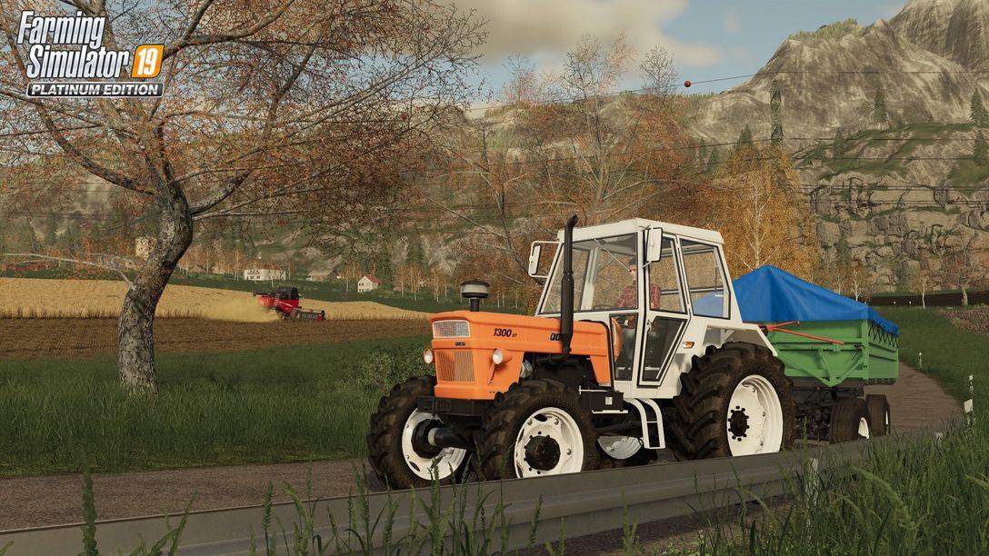 Farming Simulator 19 Agrega Mañana el Mod Seasons a PS4