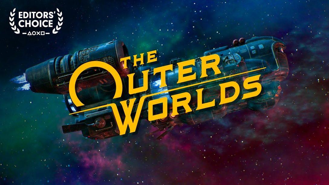 Editors' Choice:  El Humor de Ciencia Ficción de The Outer Worlds es Fuera de Esta Galaxia