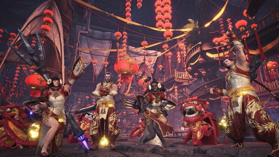 Celebren las Festividades en Monster Hunter World Hasta el 5 de Enero