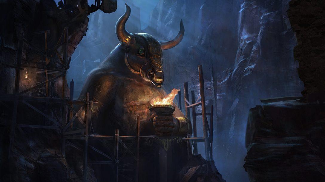 Santa Monica Studio Celebra 20 Años con el Arte Conceptual de God of War