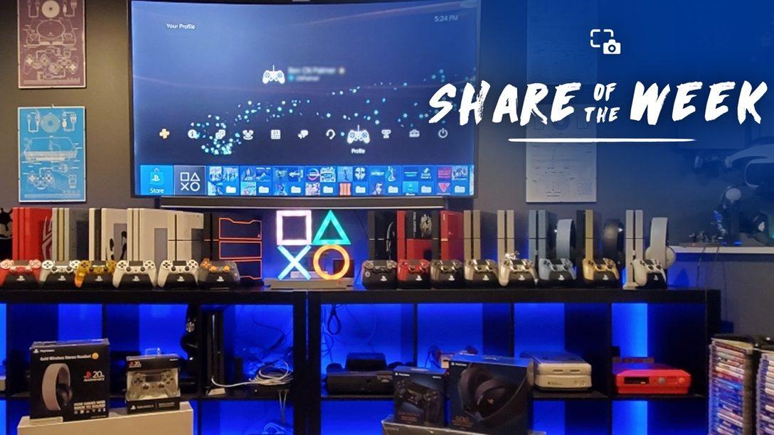 Share of the Week – Estación de Juego de PS4