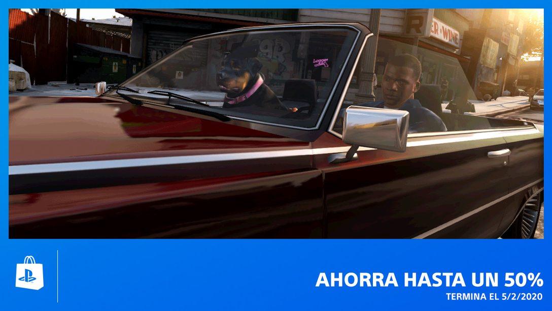 Ahorren Hasta 50% en La nueva Promoción de PlayStation Store