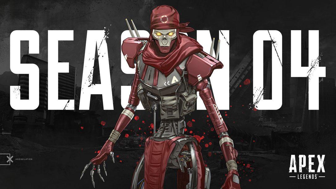 La Temporada 4 de Apex Legends Empieza el Martes y Trae Nuevos Personajes, Arma y Más