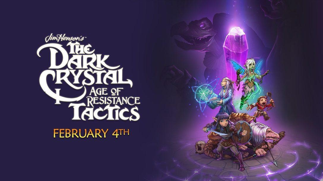 The Dark Crystal: Age of Resistance Tactics se Lanza Hoy