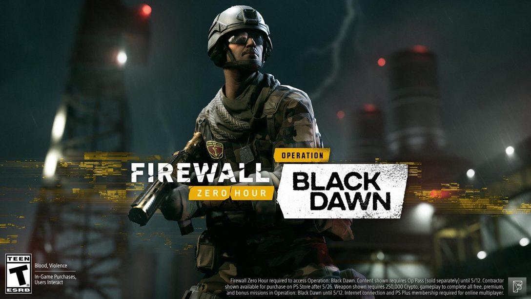 La Nueva Temporada de Firewall Zero Hour, Operation: Black Dawn, Estará Disponible Hoy