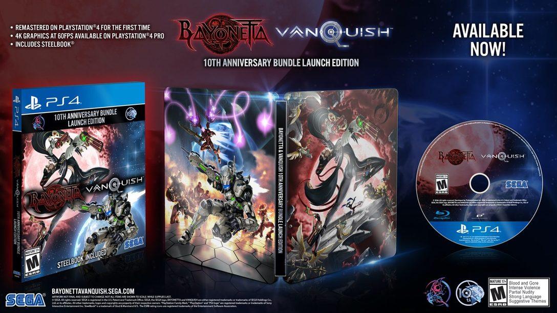 Bayonetta & Vanquish 10th Anniversary Bundle Ya Está Disponible