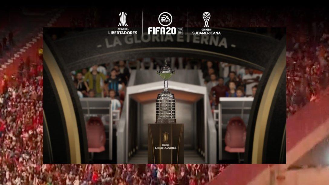 La Actualización de la Copa Conmebol Libertadores para FIFA 20 se Lanzará el Próximo Mes