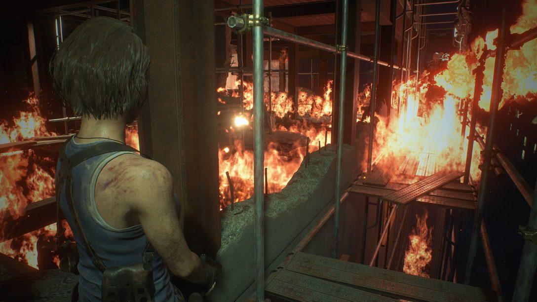 La Intensa Acción Aumenta el Horror en Resident Evil 3 Remake