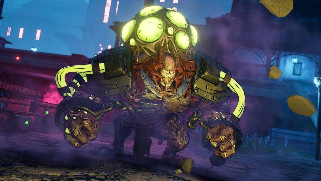 La Expansión Guns, Love, and Tentacles de Borderlands 3 Llegará a PS4 el 26 de Marzo