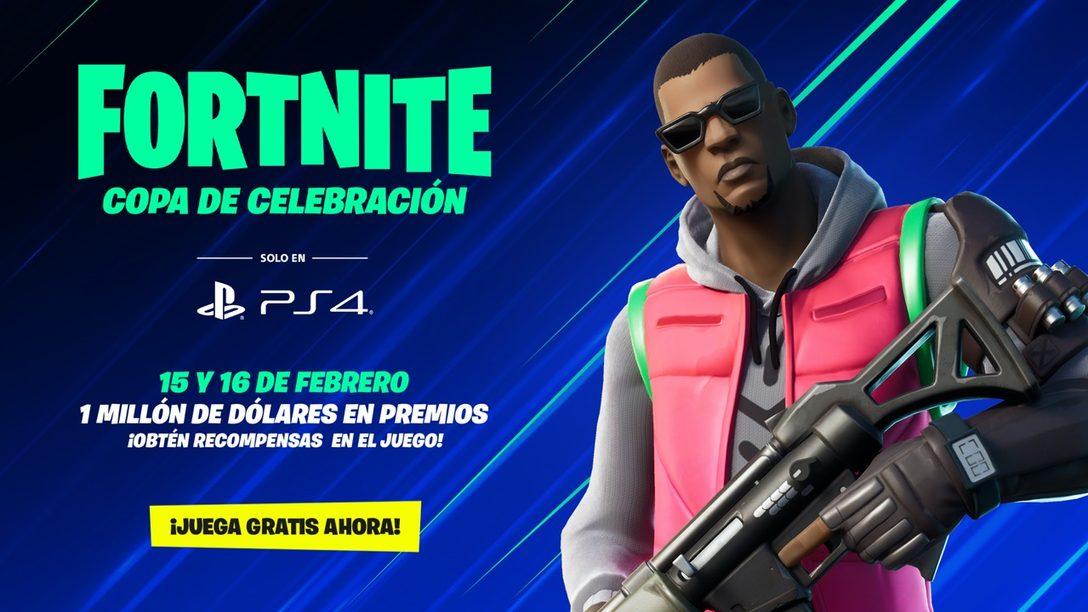 Fortnite Copa de Celebración, Solo en PS4