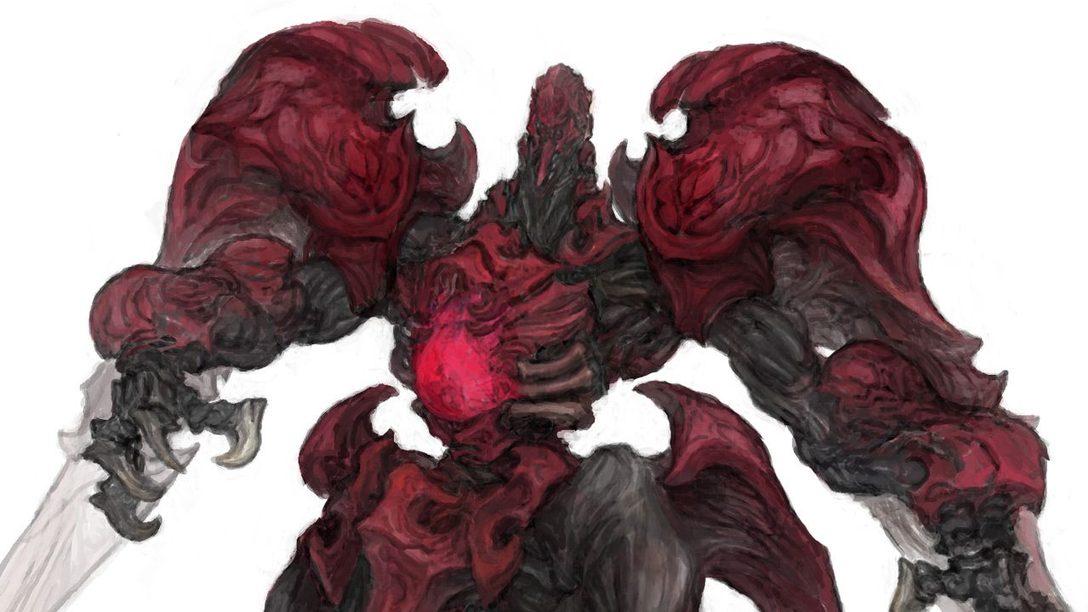 Así es Como Square Enix Reimaginó El Superjefe Ruby Weapon de FFVII para Final Fantasy XIV