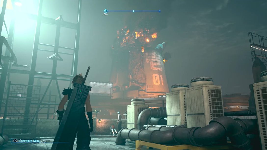 Tres Horas con Final Fantasy VII Remake