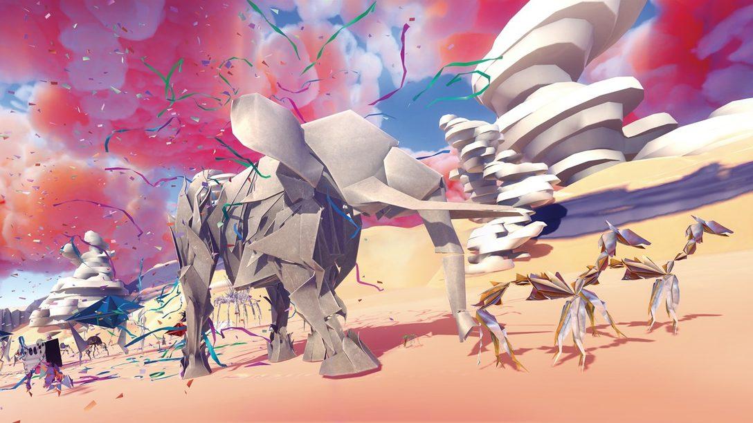 Dentro del Mundo Surrealista de Paper Beast, Disponible Mañana en PS VR