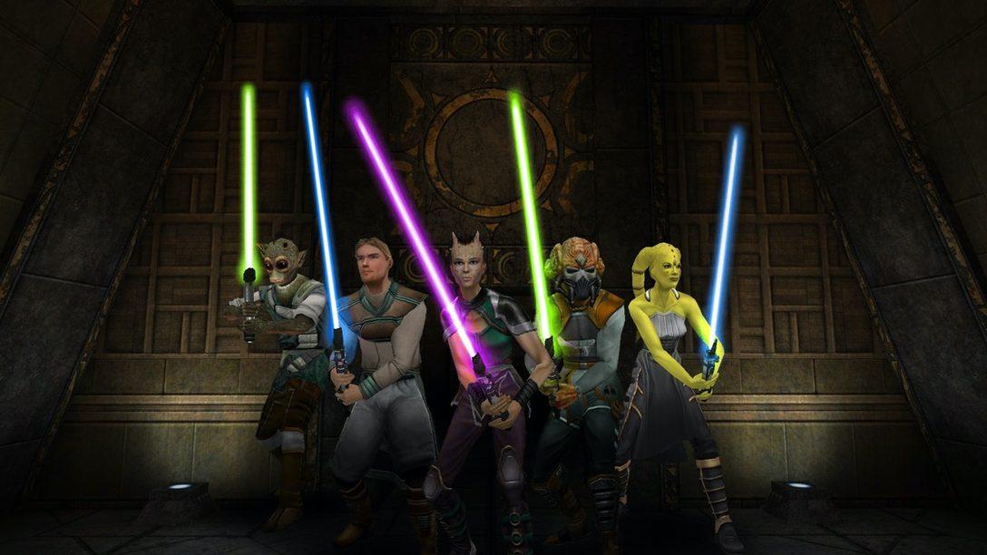 Star Wars Jedi Knight: Jedi Academy se Lanza Hoy en PS4