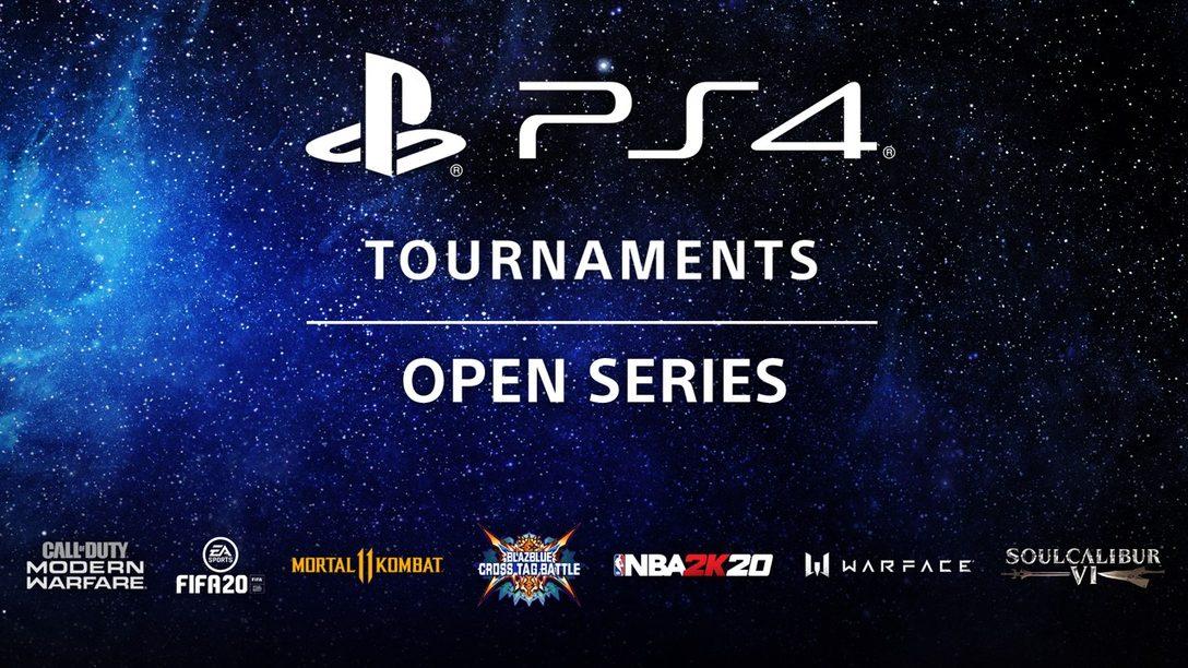 La Competencia Continúa con PS4 Tournaments: Open Series