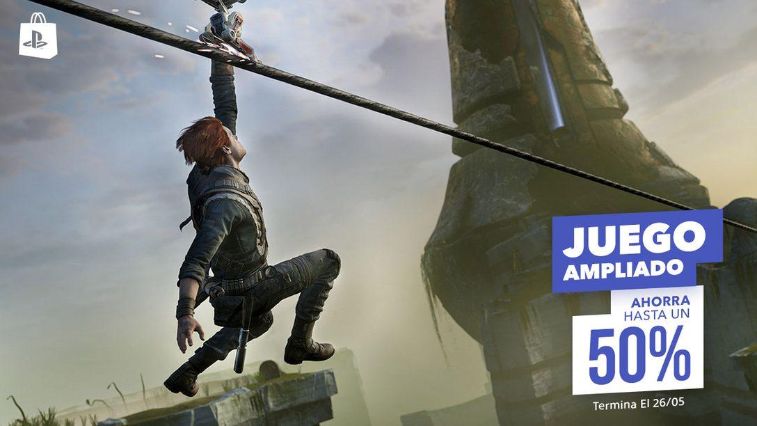 Star Wars Jedi: Fallen Order, Assassin's Creed Odyssey y Más Estarán Disponibles en la Promoción Juego Ampliado de PS Store