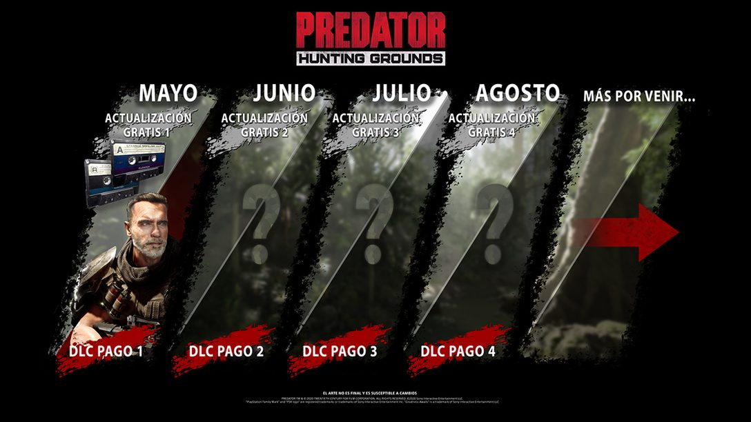Dutch Regresará a la Jungla en Predator: Hunting Grounds