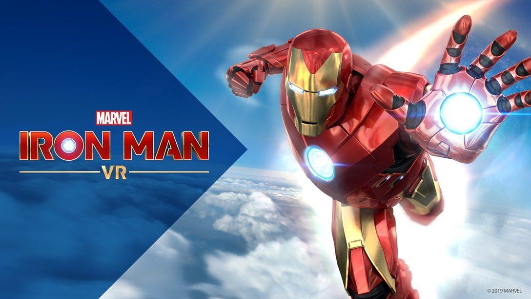 Un vistazo más de cerca al combate e inmenso mundo de Marvel's Iron Man VR