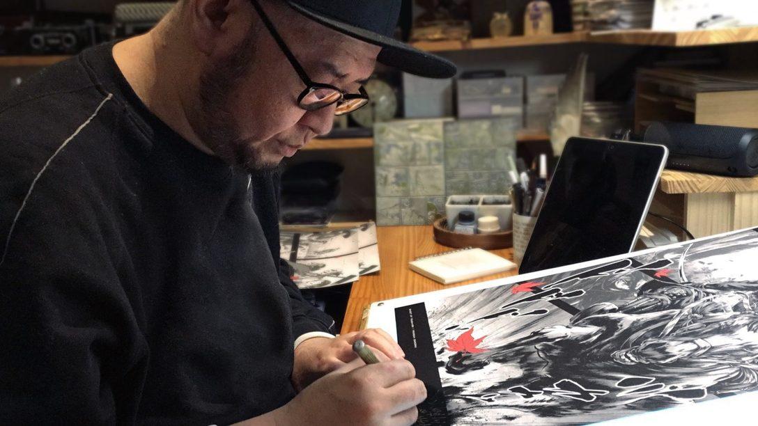 Esta es la serie especial de pósteres de Ghost of Tsushima