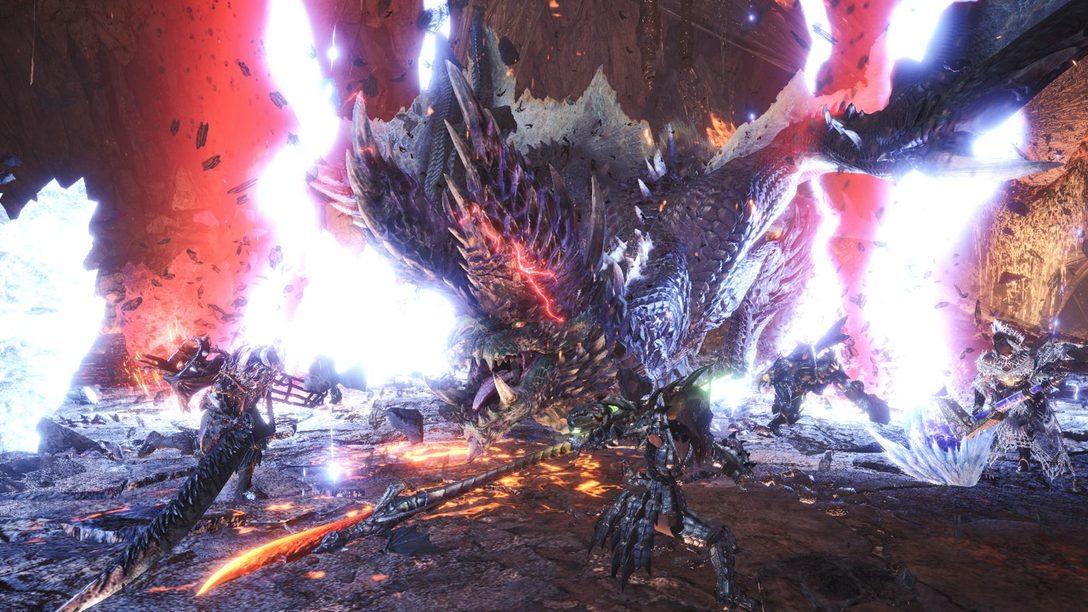 Alatreon trae una tormenta de elementos a Monster Hunter World: Iceborne el 9 de julio