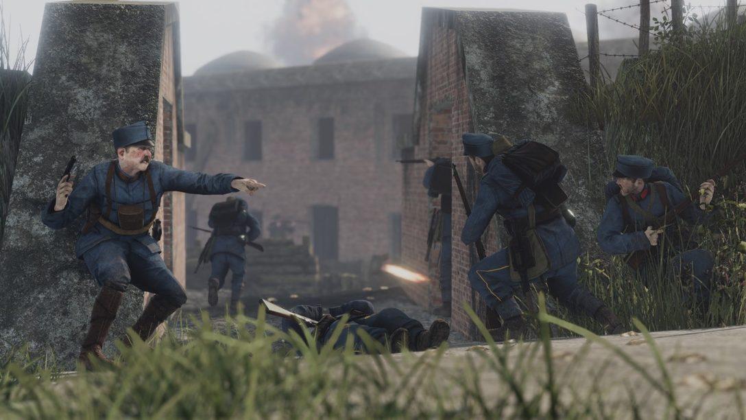 Tannenberg, el shooter multijugador de la Primera Guerra Mundial se lanza hoy en PS4