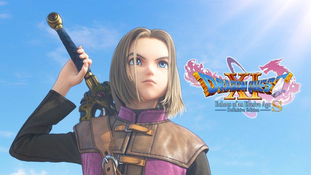 Dragon Quest XI S: Echoes of an Elusive Age – Definitive Edition anunciado para PS4