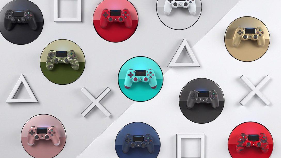 Colores seleccionados de DualShock regresarán este mes