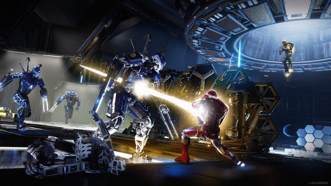Trabajando juntos con estilo gracias a los Community Challenges y cosméticos para Marvel's Avengers